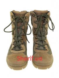Ботинки с высокой берцой на мембране Khaki (модель 3)-2