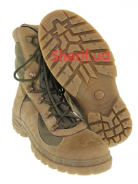 Ботинки с высокой берцой на мембране Khaki (модель 3)-3