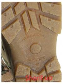 Ботинки с высокой берцой на мембране Khaki (модель 3)-8