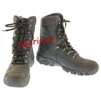 Ботинки кожаные с высокой берцой Black (модель 2)