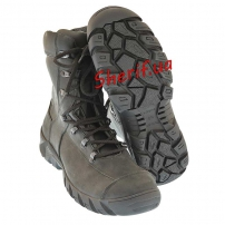 Ботинки кожаные с высокой берцой Black (модель 2)-2