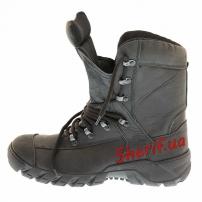 Ботинки кожаные с высокой берцой Black (модель 2)-5