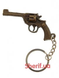 Брелок для ключей Револьвер Наган