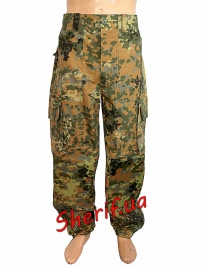 Брюки спецназ MIL-TEC Light Weight Рип-Стоп Flecktarn, 11631121