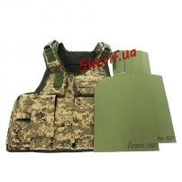 Бронежилет Воин-IV, 4+класс (Armox-600T MAX+боковые)
