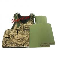 Бронежилет Воин-V, 5+класс (Armox-600T+боковые)