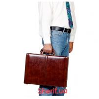 Бронедипломат Hagor Leather Business Brifcase
