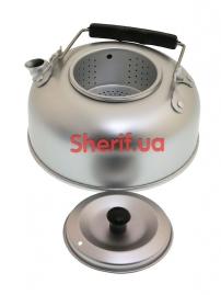 14695000 Чайник MIL-TEC алюминиевый 1Qt-2
