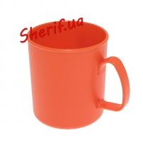 Чашка пластик красная