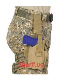 Кобура набедренная Condor Tactical Leg Holster TAN-3