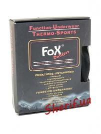 Cпортивная термокофта под одежду Max Fuchs Black-2