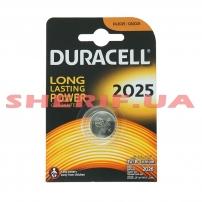 Батарейка DURACELL DL2025 DSN