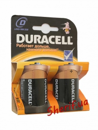 Батарейка DURACELL D  LR20 MN1300, 1шт