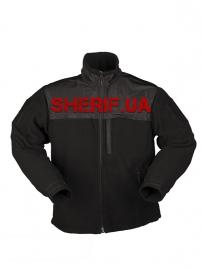 Куртка MIL-TEC флисовая Elite Fleece Jacke HEXTAC® Black