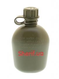 Фляга пластиковая MIL-TEC 1Qt Olive