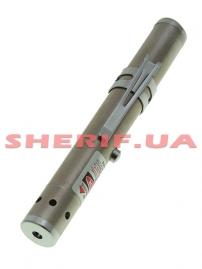 Фонарь-лазер красный HJ-1206, блистер