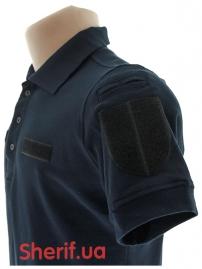 Футболка-поло синяя (полицейская) Модель-2-5