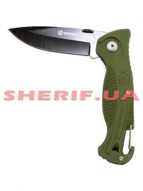 Нож Ganzo G611 green-2