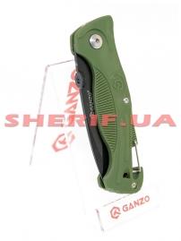 Нож Ganzo G611 green-5
