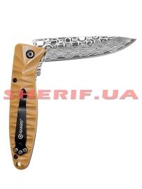 Нож Ganzo c травлением G620y-2 yellow-6