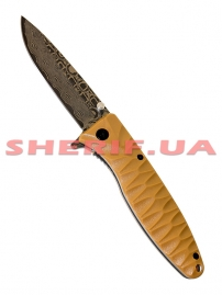 Нож Ganzo c травлением G620y-2 yellow-3