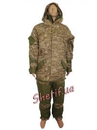 Зимняя военная форма Горка-М2 камуфляж Marpat Desert
