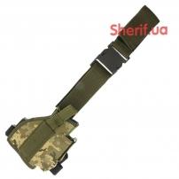 Кобура набедренная штурмовая LT Digital ВСУ + быстрый сброс