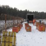 """Подготовка к фейерверку """"Рождество 2011"""""""