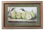 Картина бисером «Груши», 43х29см