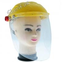 Каска с защитным стеклом 4
