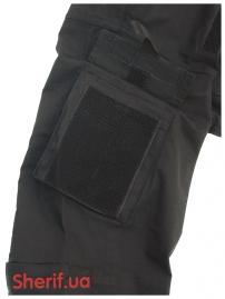 Китель ACU MIL-TEC Рип-Стоп Black-5