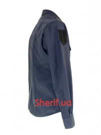 Китель полицейский Dark blue тк.Holland-2