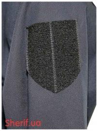 Китель полицейский Dark blue тк.Holland-5