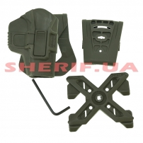 Кобура FAB Defense Scorpus® MX Level 2 Olive-2