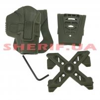 Кобура FAB Defense Scorpus® MX Level 2 Olive-2