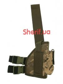 Кобура набедренная штурмовая LT (Cordura) Digital ВСУ