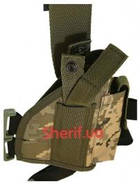 Кобура набедренная штурмовая LT (Cordura) Digital ВСУ-2