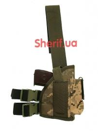 Кобура набедренная штурмовая LT (Cordura) Digital ВСУ-5