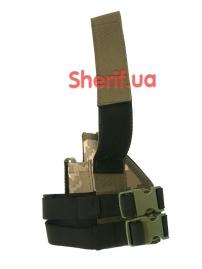 Кобура набедренная штурмовая LT (Cordura) Digital ВСУ-3