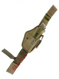 Кобура MIL-TEC на ногу OLIVE  16145001