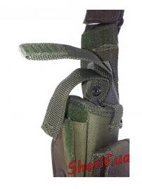 Кобура MIL-TEC на ногу OLIVE  16145001-6