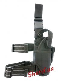 Кобура MIL-TEC на ногу регулируемая Black