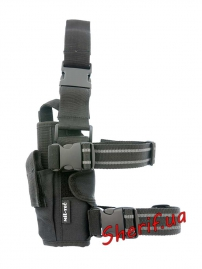 Кобура MIL-TEC на ногу регулируемая Black-2