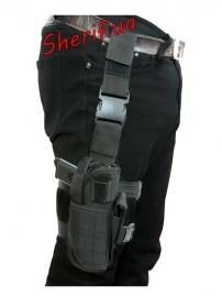 Кобура MIL-TEC на ногу регулируемая Black-8
