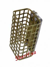 Кормушка фидерная прямоугольная метал. 80г