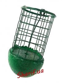 Кормушка пустышка плавающая (черн. зелен.)