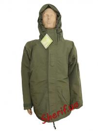Куртка MIL-TEC трёхслойный ламинат OLIVE, 10620001