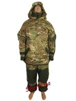 Зимняя военная форма Горка-М2 камуфляж Multicam
