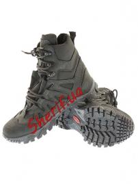 Кроссовки тактические с высокой берцой Black (модель 8)-2