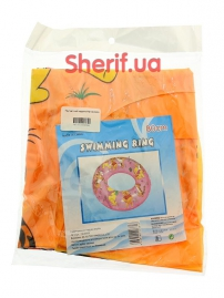 Круг детский надувной №19020658 (80см) оранжевый